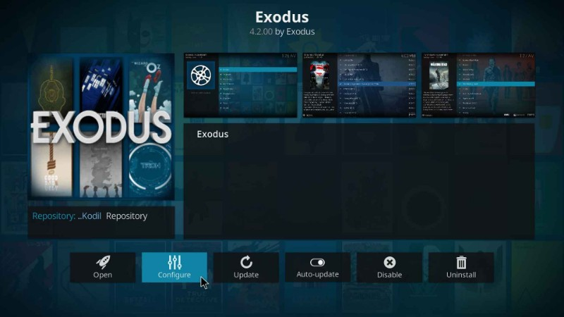 exodus activation
