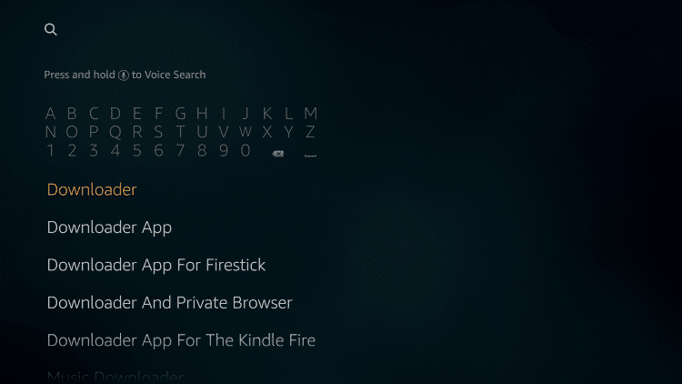 install downloader