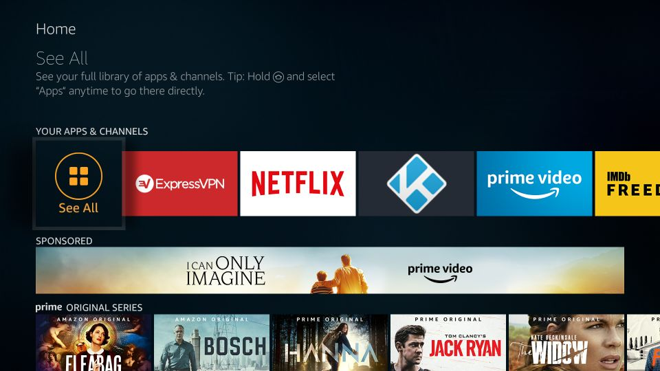 how to use redbox tv apk on amazon firestick